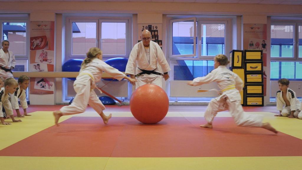 Judo hry - Akademie Šampion